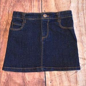 Old navy Denim skirt 3T